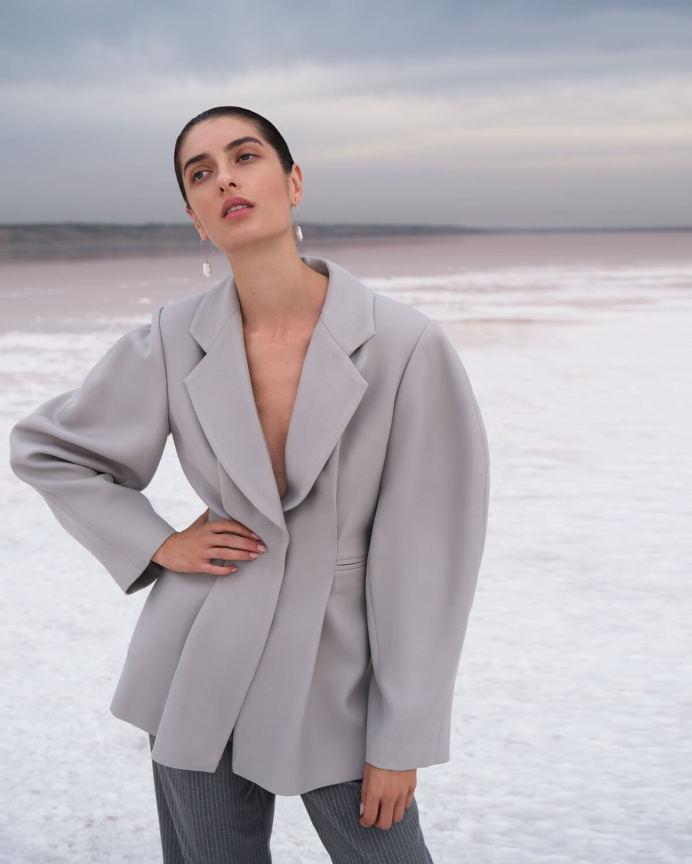 Grey Iren Jacket