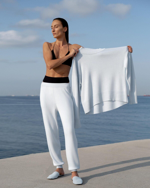 Sophie White Suit