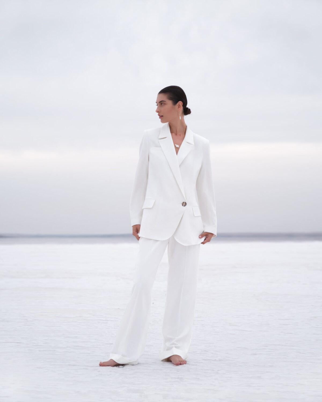 White Franky Jacket