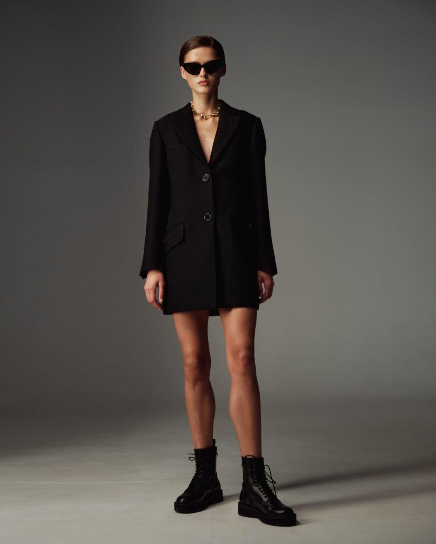 Black NORA Coat