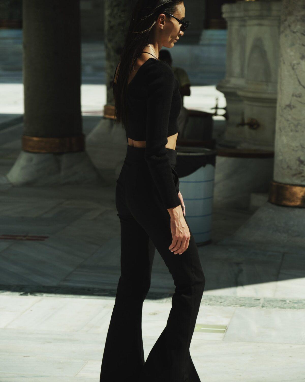 Black Flares Pant