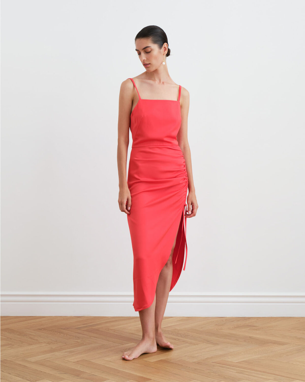 Amadi Scarlet Dress